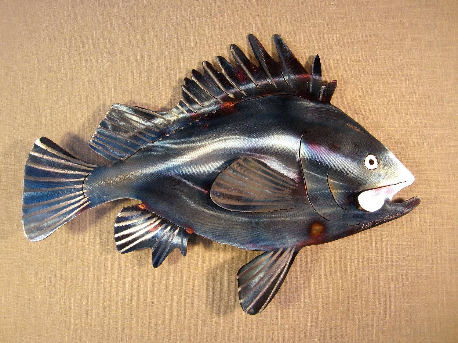 Wall Ideas: Metal Wall Art Fish (View 19 of 25)