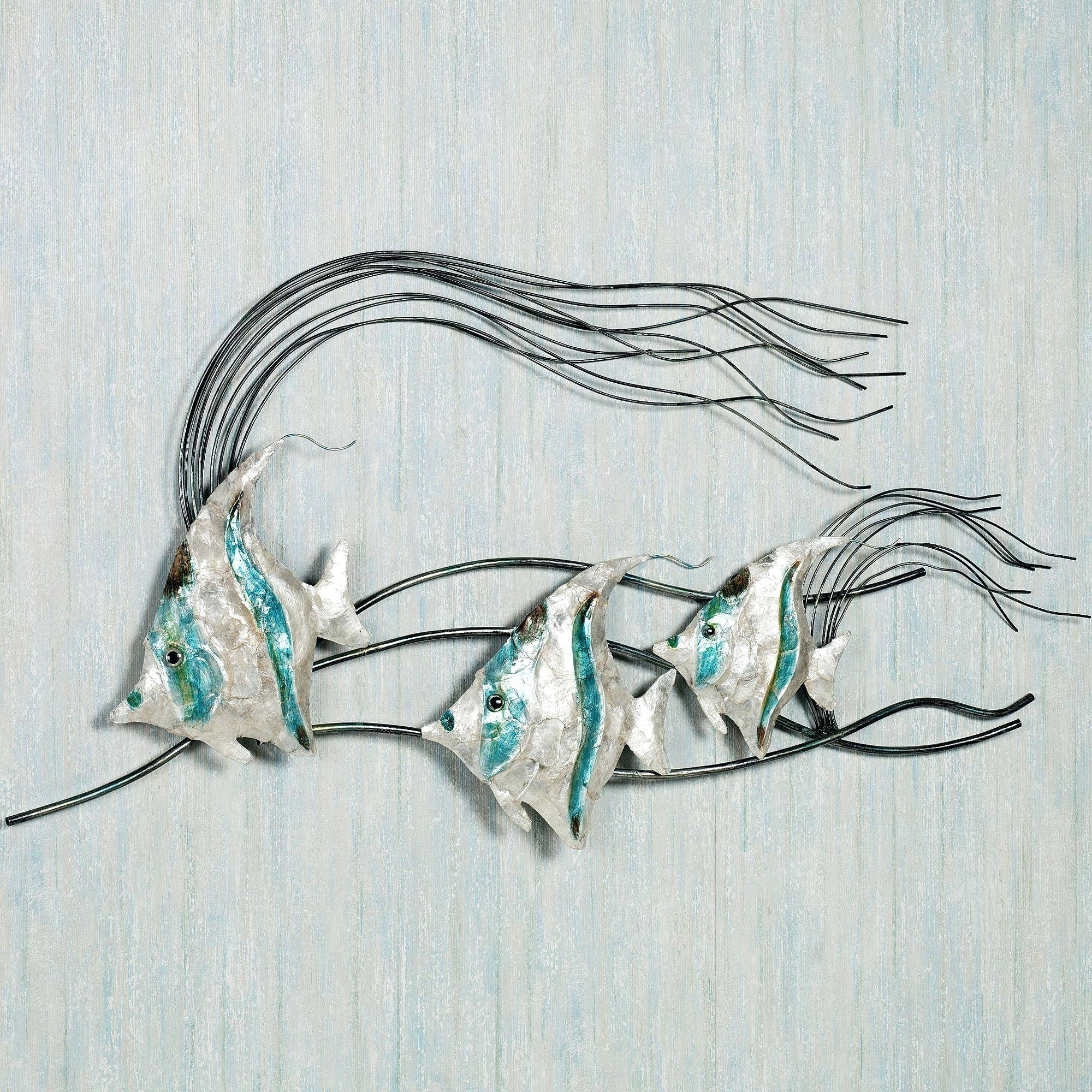 Wall Ideas: Metal Wall Art Fish (View 11 of 30)