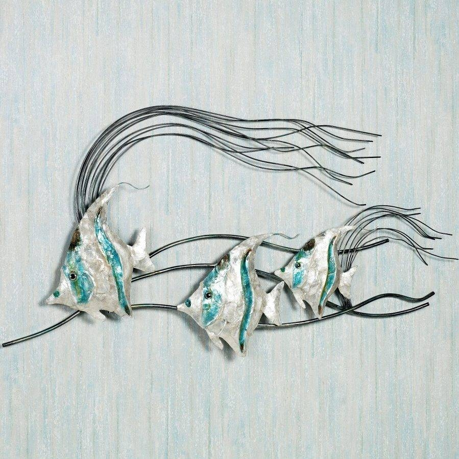 Wall Ideas: Metal Wall Art Fish (View 24 of 30)