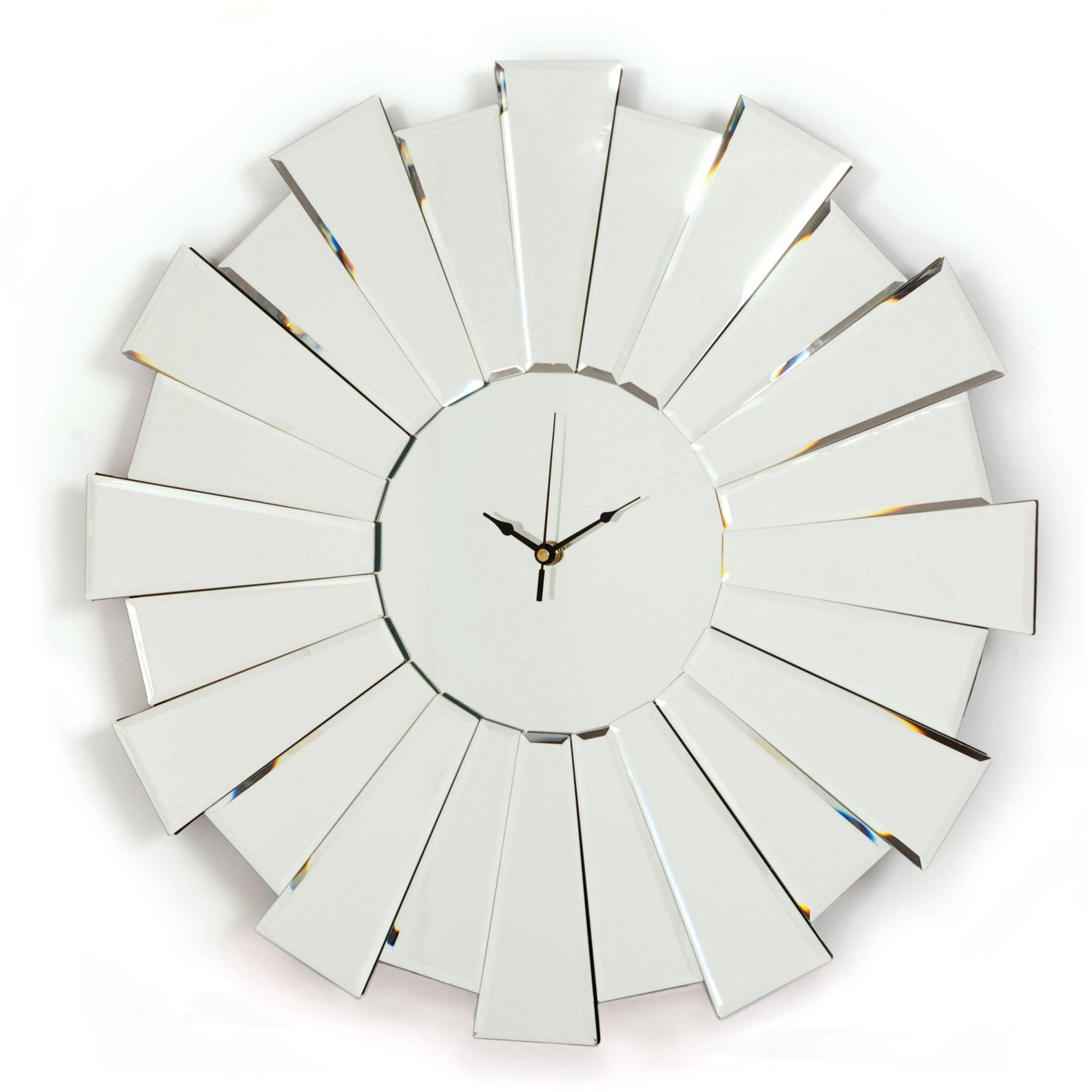 Wall Ideas: Mirror Wall Clock Design. Design Decor (View 30 of 30)