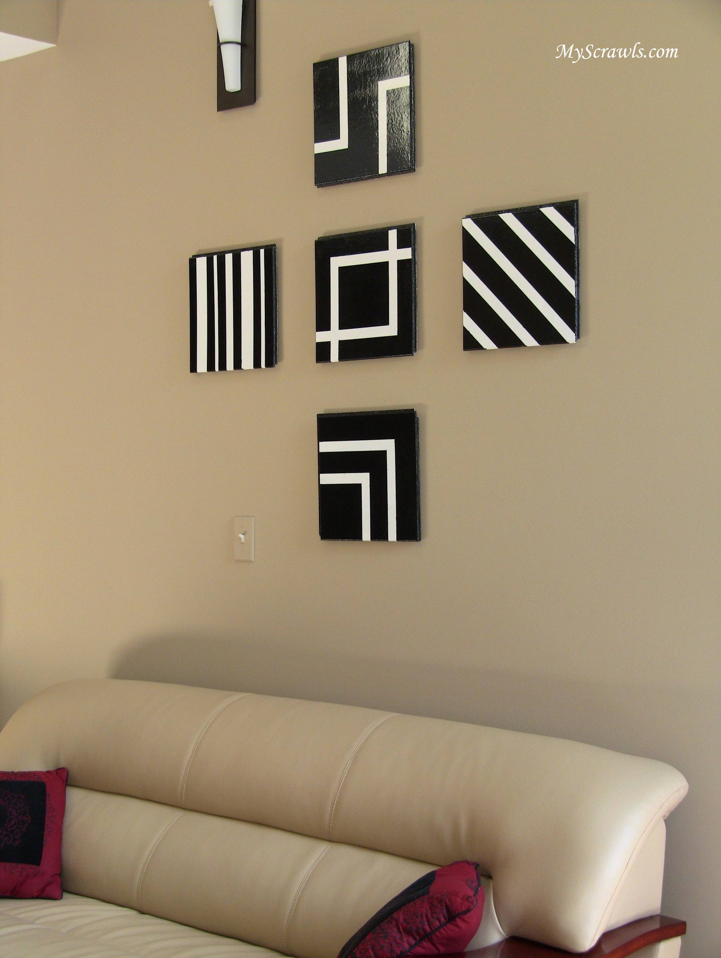 Wall Ideas: Modern Metal Wall Decor Design (View 18 of 20)