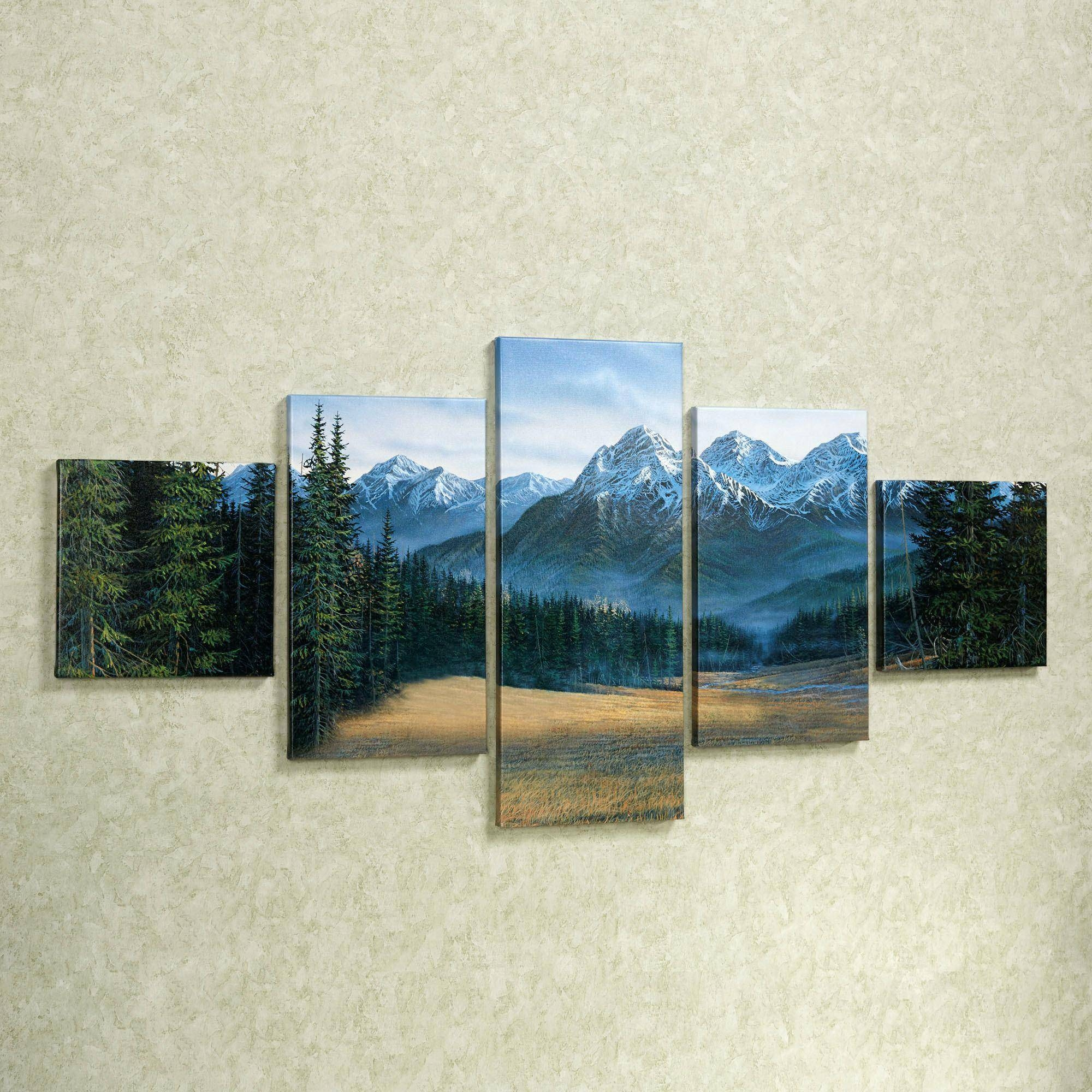 Wall Ideas: Mountain Wall Art (View 10 of 30)