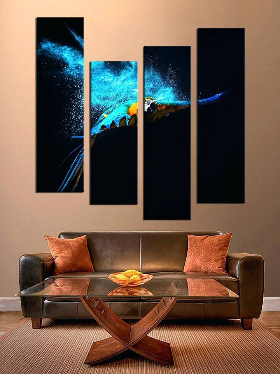 Wall Ideas : Multi Piece Wall Art Uk Dining Room Wall Decor 5 With Regard To Recent 3 Piece Beach Wall Art (View 24 of 30)