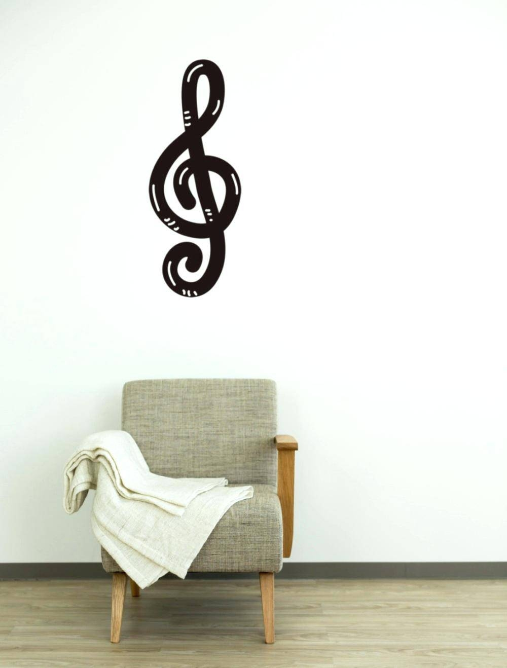 Wall Ideas: Musical Wall Decor (View 4 of 25)