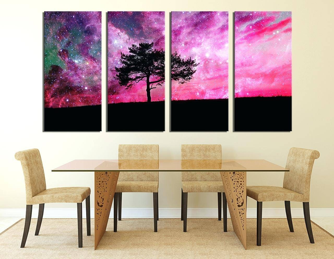 Wall Ideas : Nature Canvas Wall Art Canvas Wall Art Sets Nature With Regard To Most Recently Released 4 Piece Canvas Art Sets (View 23 of 25)