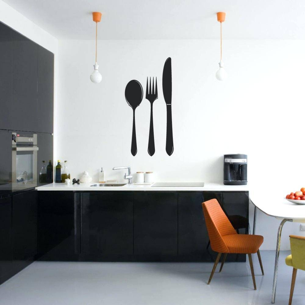 Wall Ideas : Oversized Spoon And Fork Wall Decor Sweet Picture Inside Most Current Big Spoon And Fork Wall Decor (View 26 of 30)