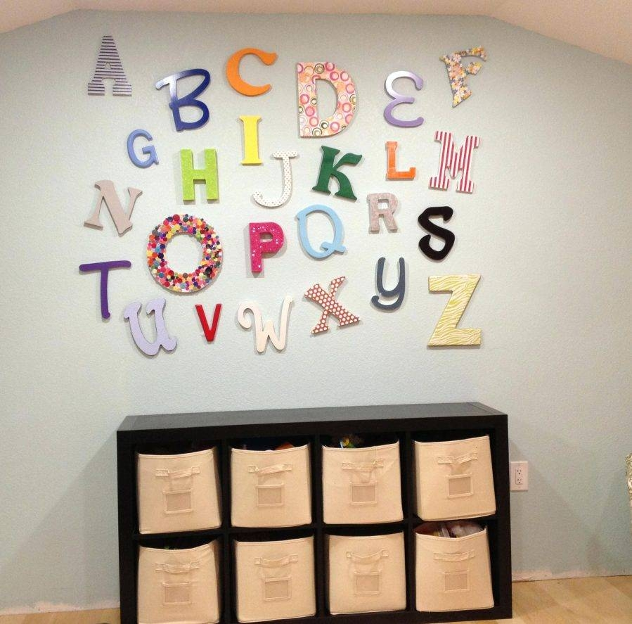 Wall Ideas : Playroom Wall Decor Ideas Playroom Wall Decor Wall With Most Recent Playroom Wall Art (View 27 of 30)