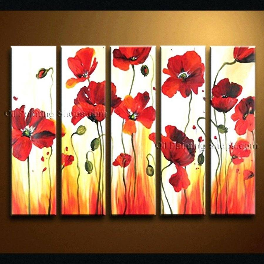 Wall Ideas : Poppy Metal Wall Art Nz Red Poppies Wall Art Canvas Intended For Recent Metal Poppy Wall Art (View 10 of 30)