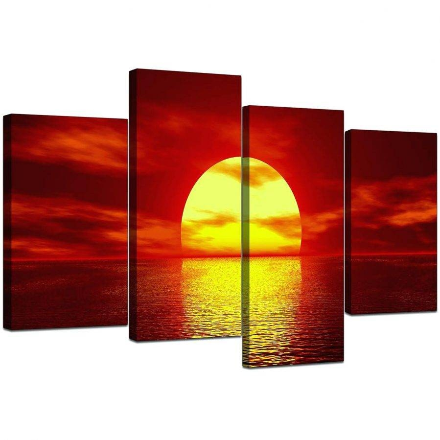 Wall Ideas: Red Wall Art Decor. Red Wall Art Decor (View 27 of 30)