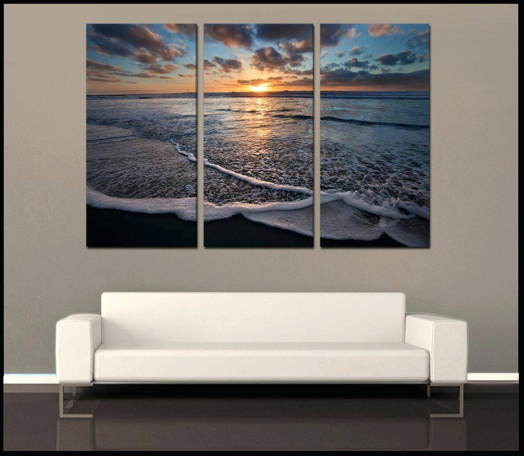 Wall Ideas : San Diego Beach Towns Print Canvas Wall Art San Diego Regarding 2018 3 Piece Beach Wall Art (View 25 of 30)