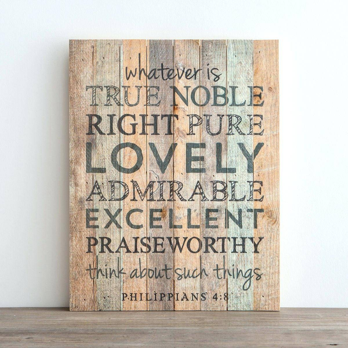 Wall Ideas : Scripture Wall Art Canvas Christian Wall Decor For Within Most Recent Nursery Bible Verses Wall Decals (View 23 of 25)