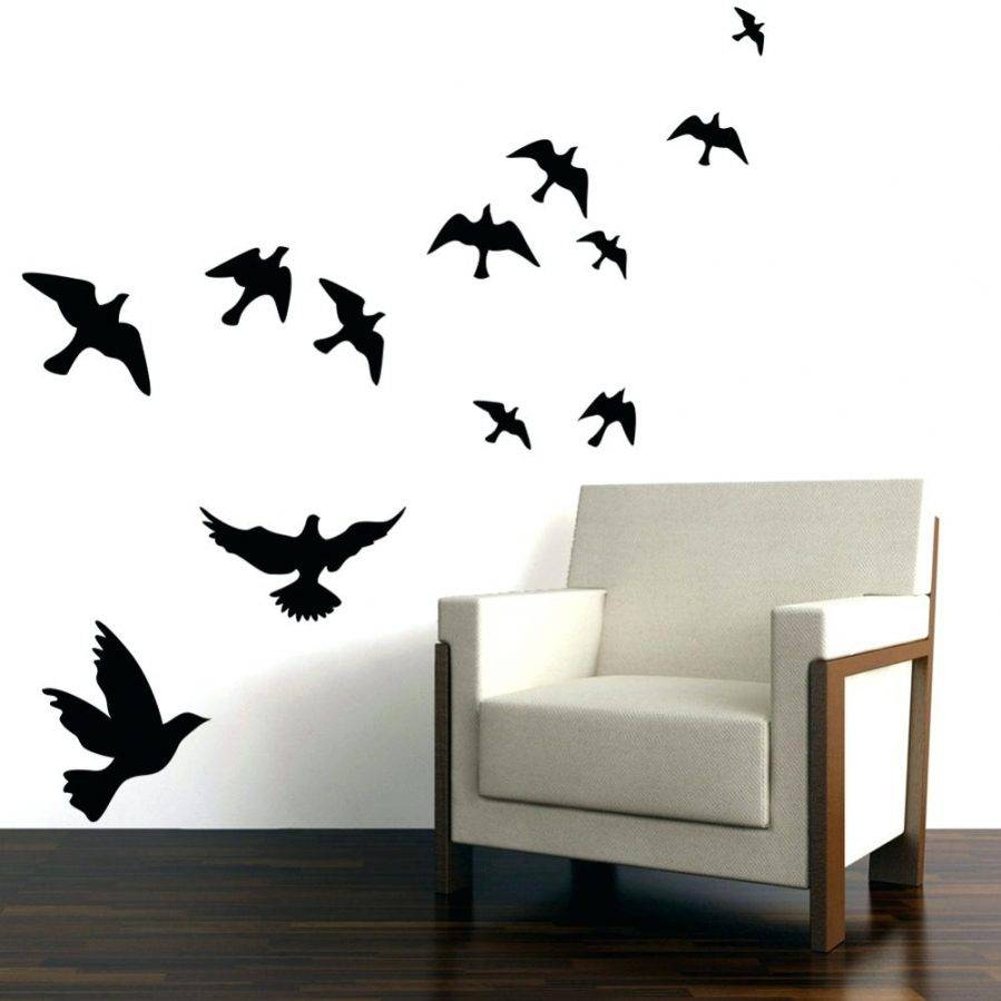 Wall Ideas : Silver Metal Bird Wall Decor Black Metal Birds Wall Intended For Newest Target Bird Wall Decor (View 4 of 30)