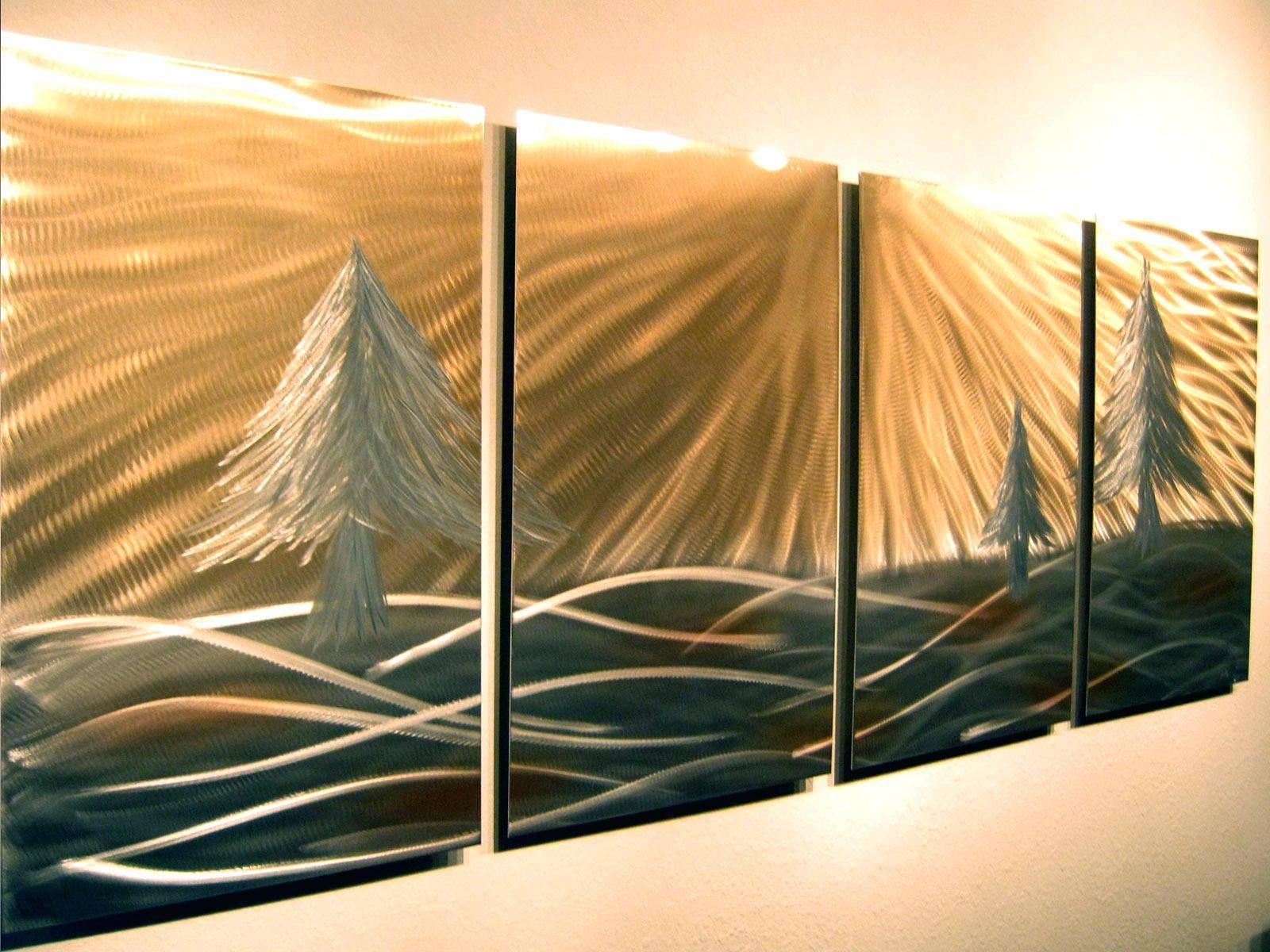 Wall Ideas: Tree Metal Wall Art (View 12 of 25)