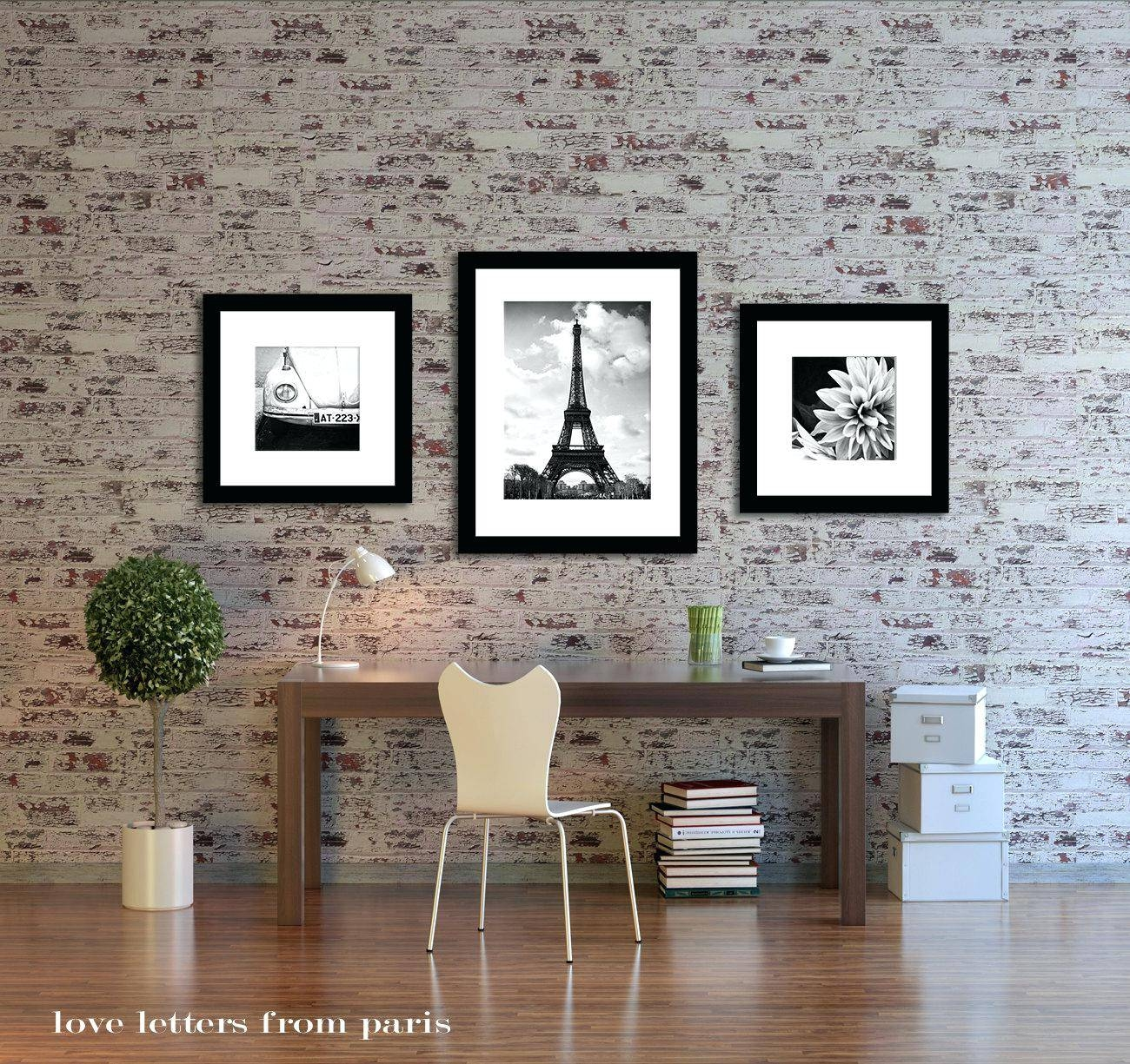 Wall Ideas : Urparcel Removable Romantic Art Paris Wall Sticker In Most Recent Paris Theme Wall Art (View 2 of 30)