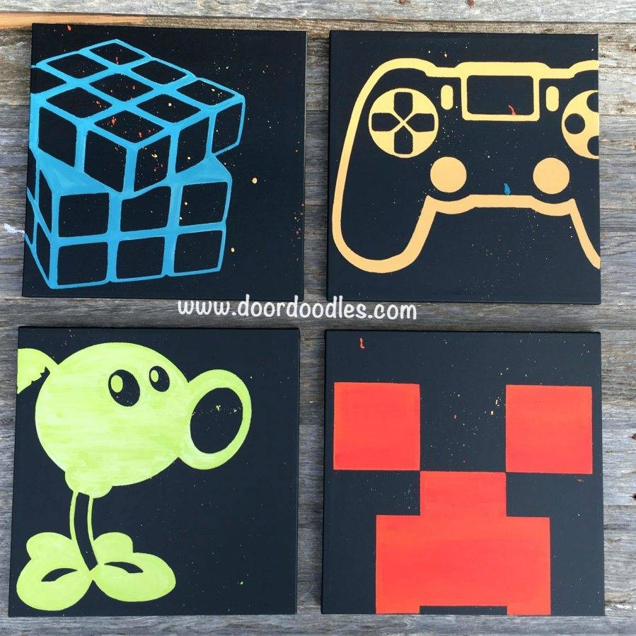Wall Ideas : Video Game Wall Art Video Game Wall Art Canvas Gaming Throughout Current Video Game Wall Art (View 29 of 30)