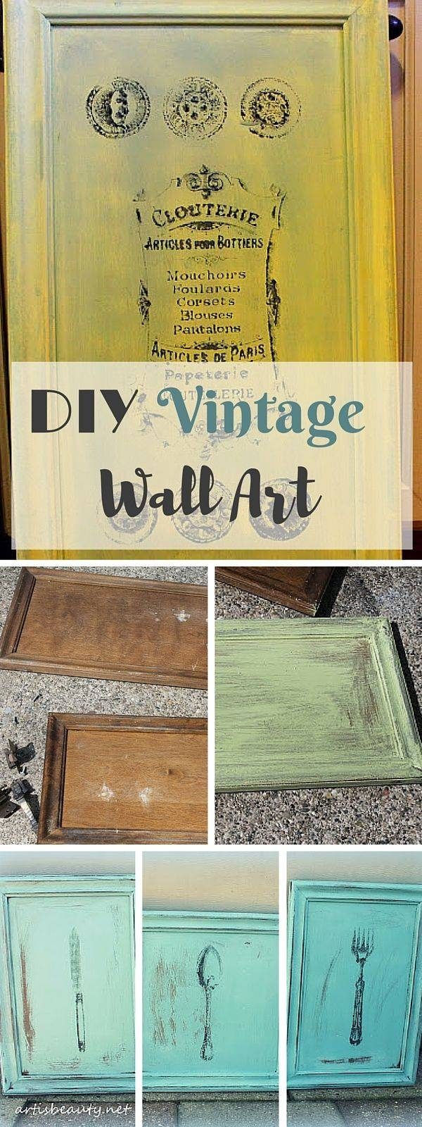 Wall Ideas: Vintage Wall Art Photo. Retro Wall Art Ideas (View 30 of 30)
