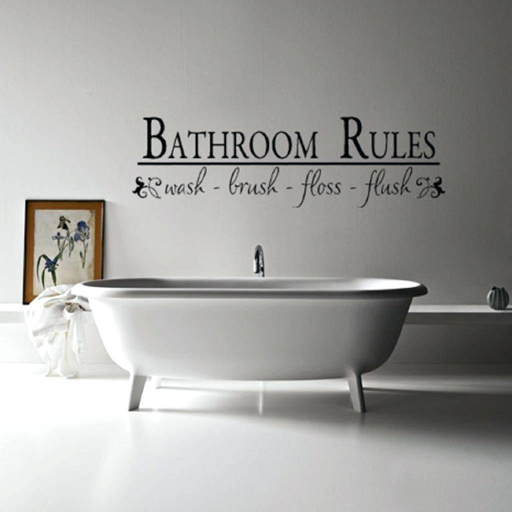 Wall Ideas : Wall Art Bathroom Stickers Bathroom Wall Art Ideas Pertaining To Most Popular Metal Wall Art For Bathroom (View 21 of 25)