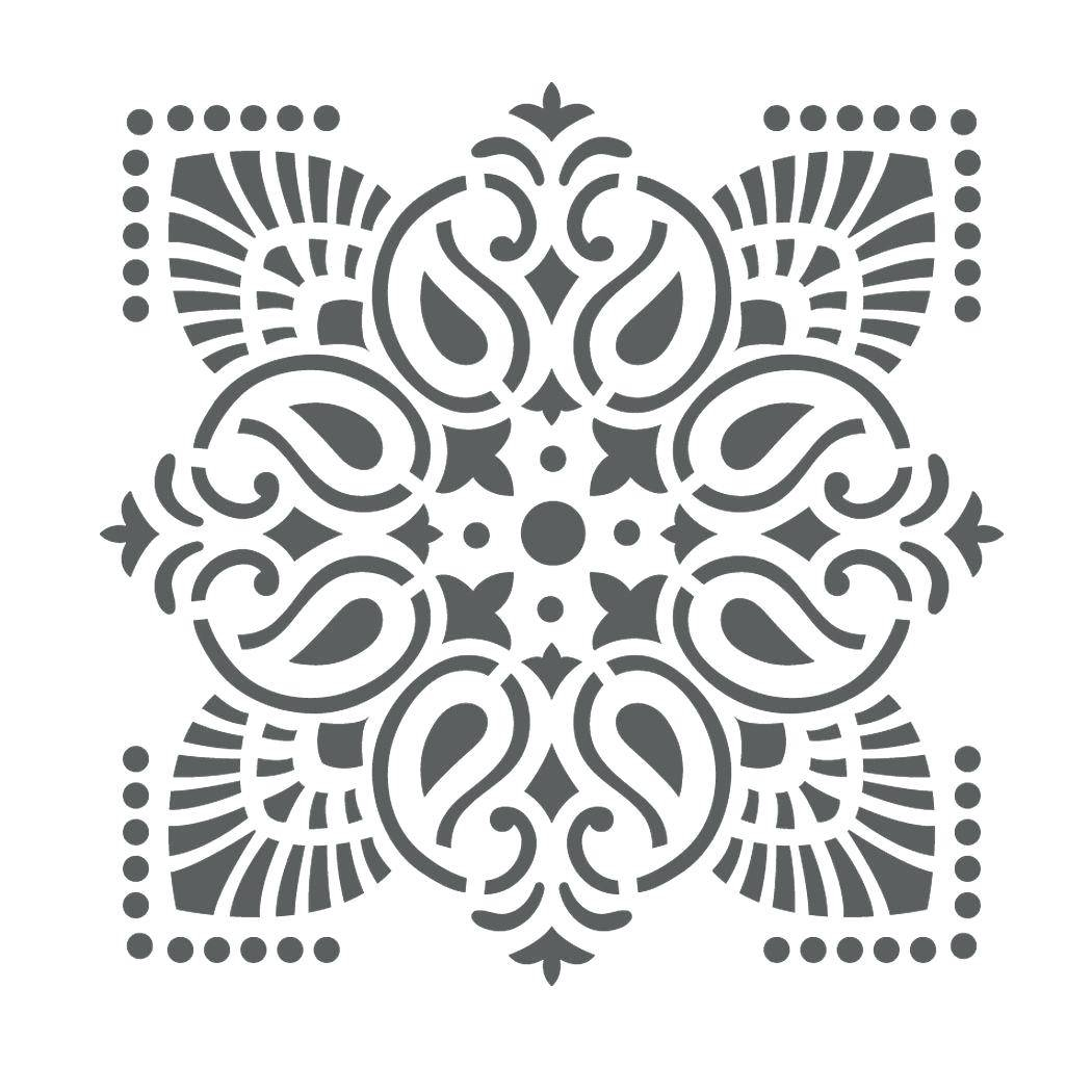 Wall Ideas : Wall Stencil Design Wall Stencil Wall Stencil Designs Regarding Most Popular Black And White Damask Wall Art (View 28 of 30)