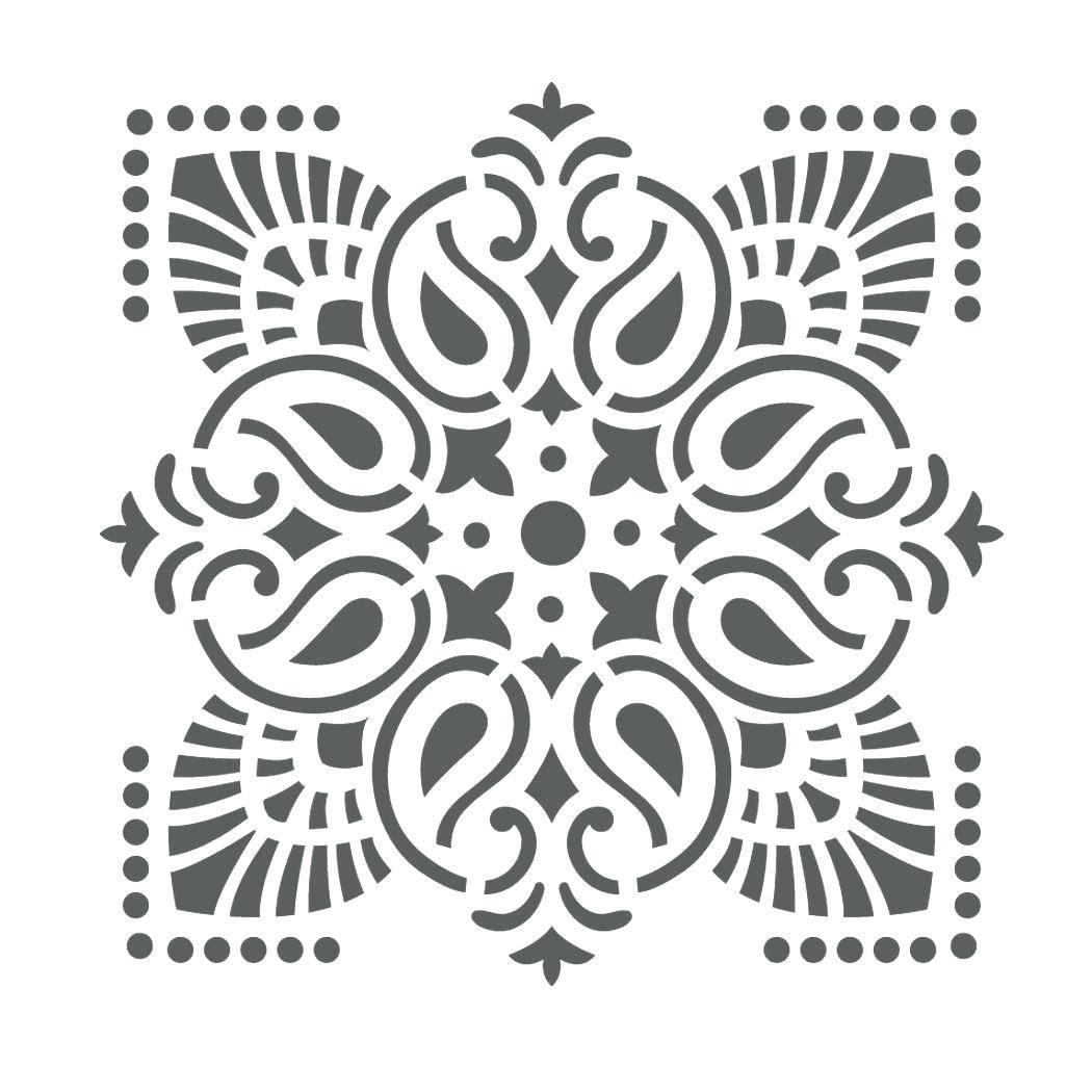 Wall Ideas : Wall Stencil Design Wall Stencil Wall Stencil Designs Regarding Most Popular Black And White Damask Wall Art (View 23 of 30)
