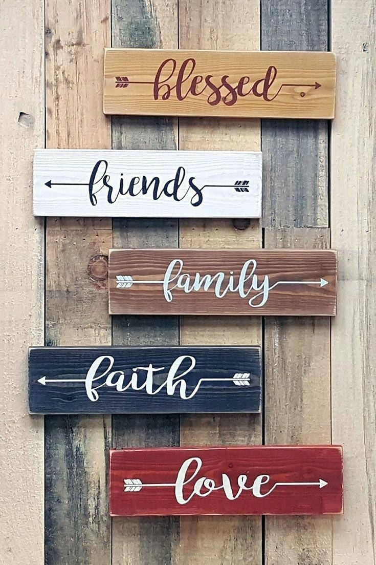 Wall Ideas: Wood Word Wall Art. Quotes Wood Wall Art (View 6 of 30)