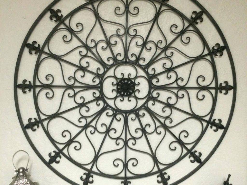 Wall Ideas : Wrought Iron Wall Art For Sale Rod Iron Wall Art Home In Most Recent Filigree Wall Art (View 5 of 30)
