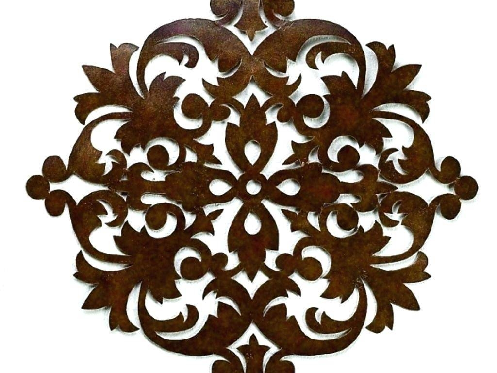 Wall Ideas : Wrought Iron Wall Decor Walmart Zoom Wrought Iron Within Most Recent Walmart Metal Wall Art (View 25 of 30)