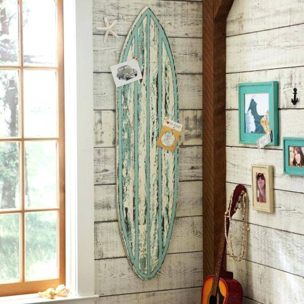 2018 popular decorative surfboard wall art for Surf decoration