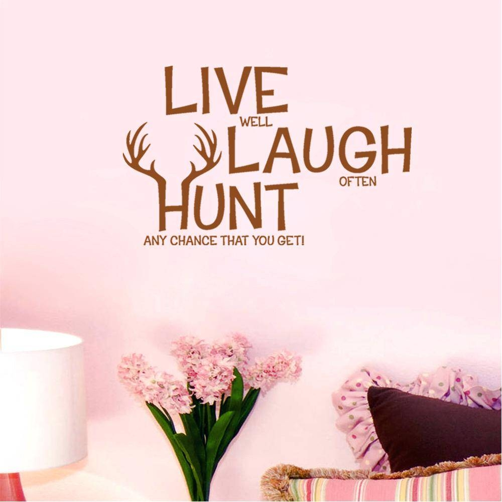 Wall Ideas : Zoom Love Wall Art Decor Love Decors Wall Stickers Regarding 2018 Kohls Wall Decals (View 21 of 25)