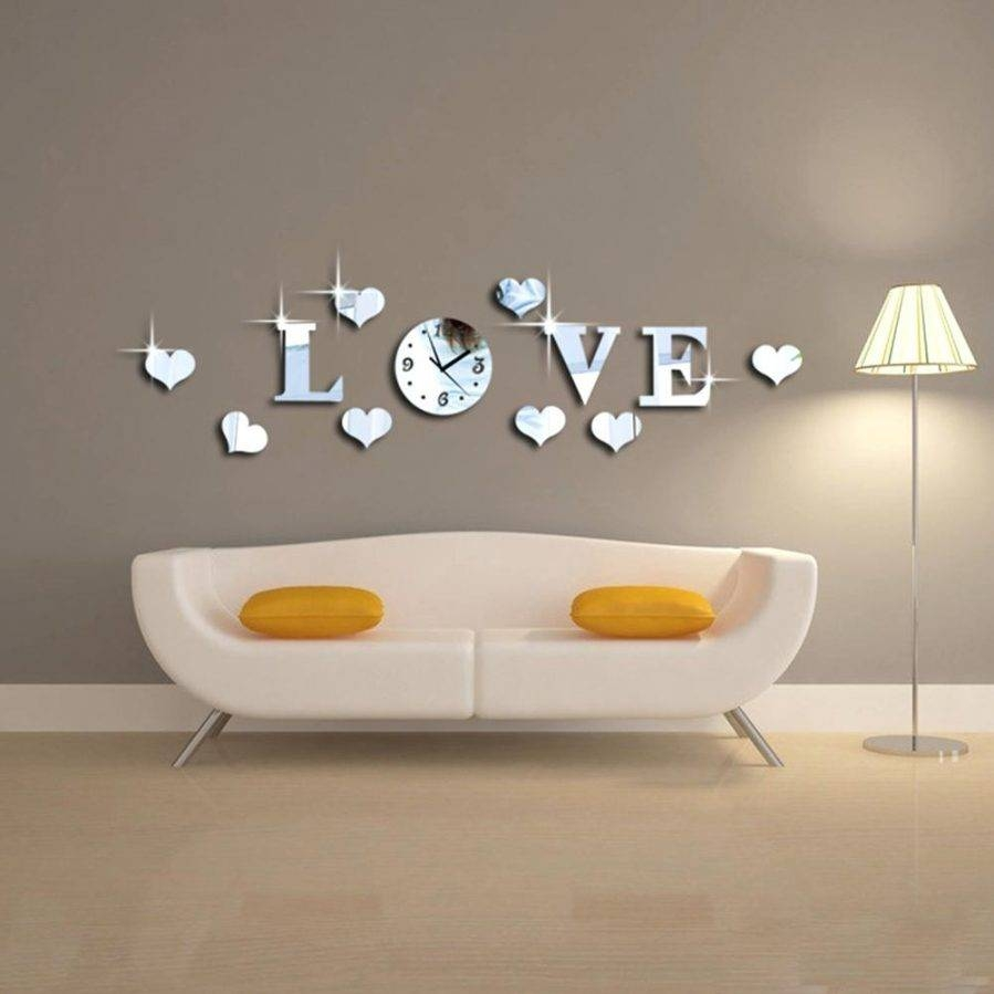 Wall Ideas : Zoom Love Wall Art Decor Love Decors Wall Stickers With Regard To Most Recently Released Kohls Wall Decals (View 7 of 25)