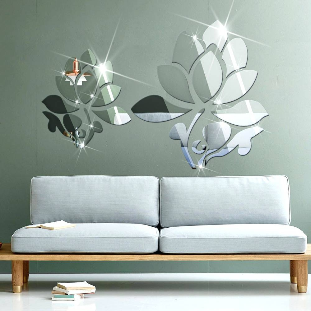 Wall Mirrors ~ 3D Mirror Wall Decor Diy 3D Mirror Wall Art Full With Regard To Latest Diy 3D Wall Art Butterflies (View 18 of 20)