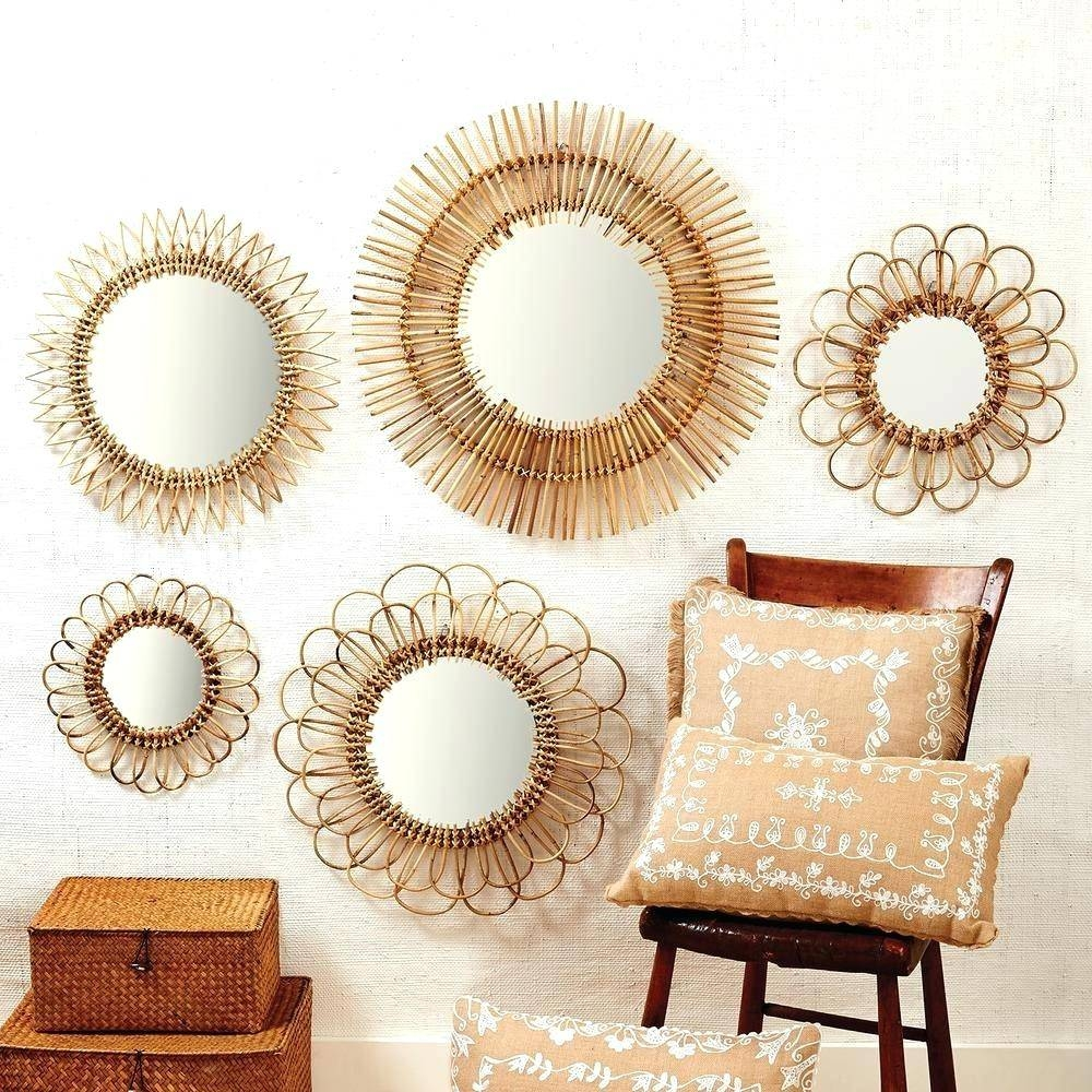 Wall Mirrors ~ Big Round Wall Mirrors Small Round Wall Mirrors Uk In 2018 Large Round Wall Art (View 12 of 15)