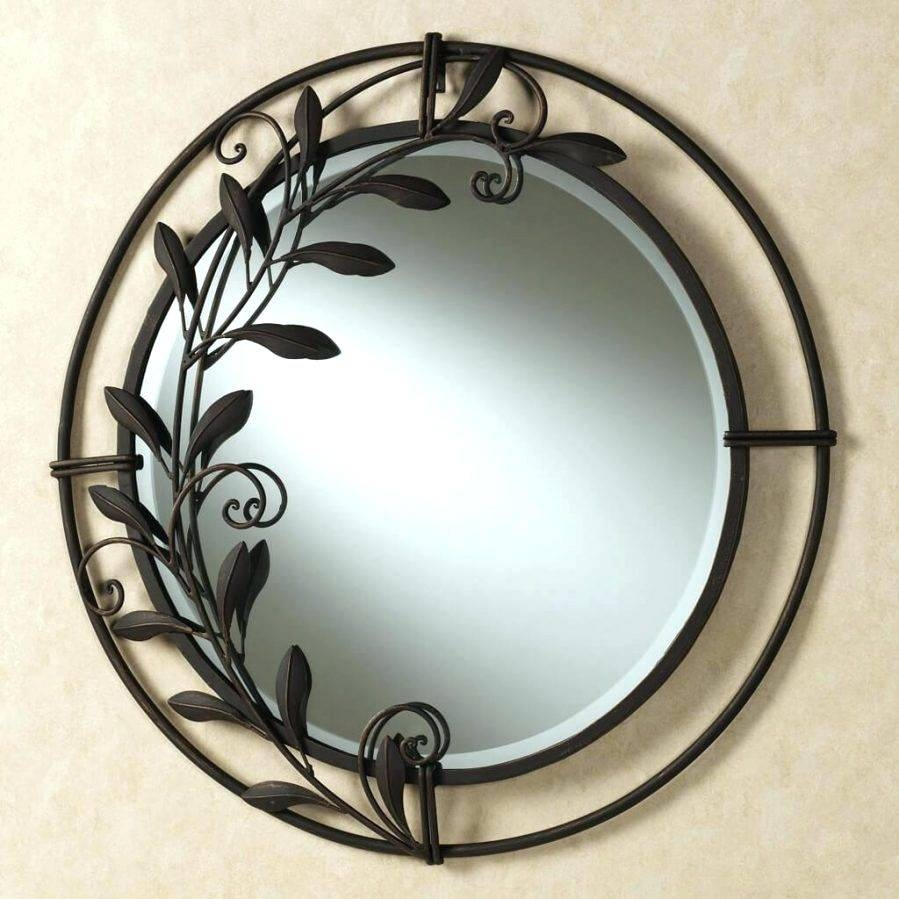 Wall Mirrors ~ Circle Mirrors Wall Art Large Round Wall Mirror In Latest Large Round Wall Art (View 14 of 15)