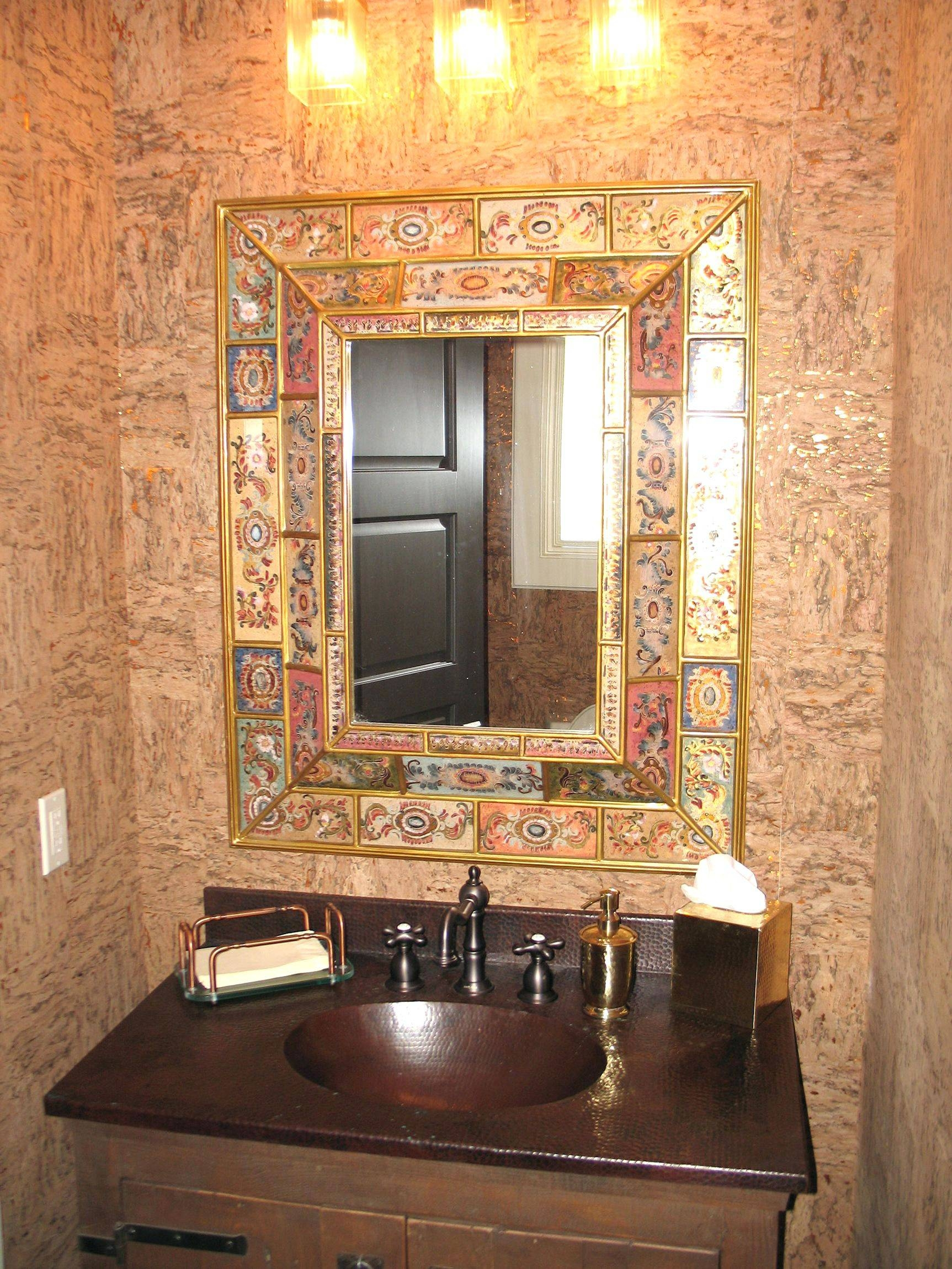 Wall Mirrors ~ Mexican Pine Wall Mirror Mexican Tile Wall Mirror Inside 2017 Mexican Metal Wall Art (View 27 of 30)