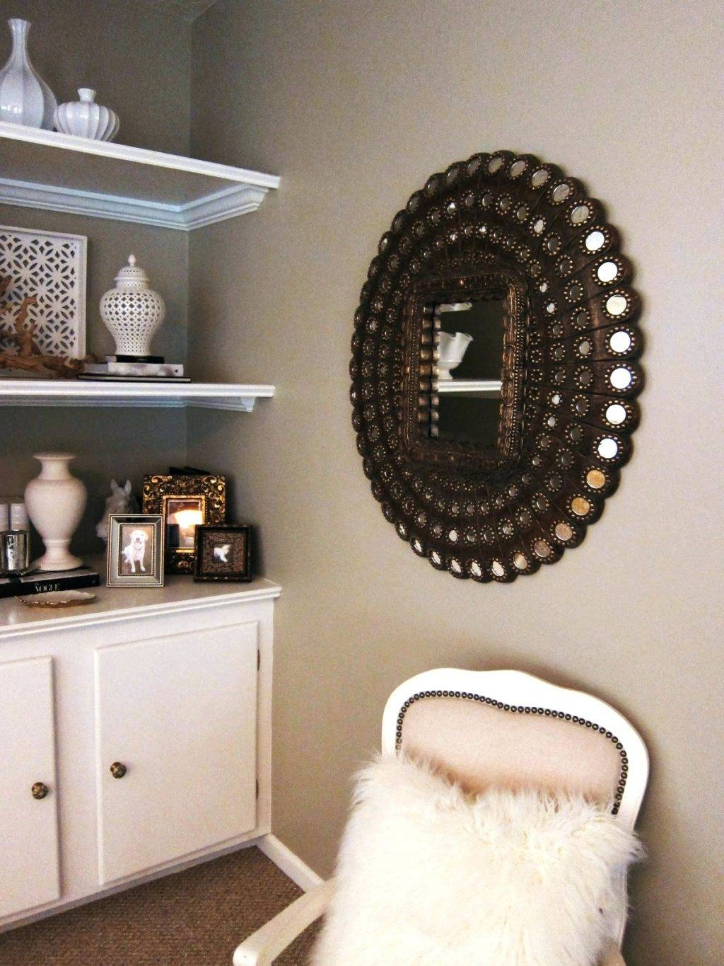 Wall Mirrors ~ Small Round Mirrors Wall Art Design 3 Things You Regarding Best And Newest Small Round Mirrors Wall Art (View 15 of 20)