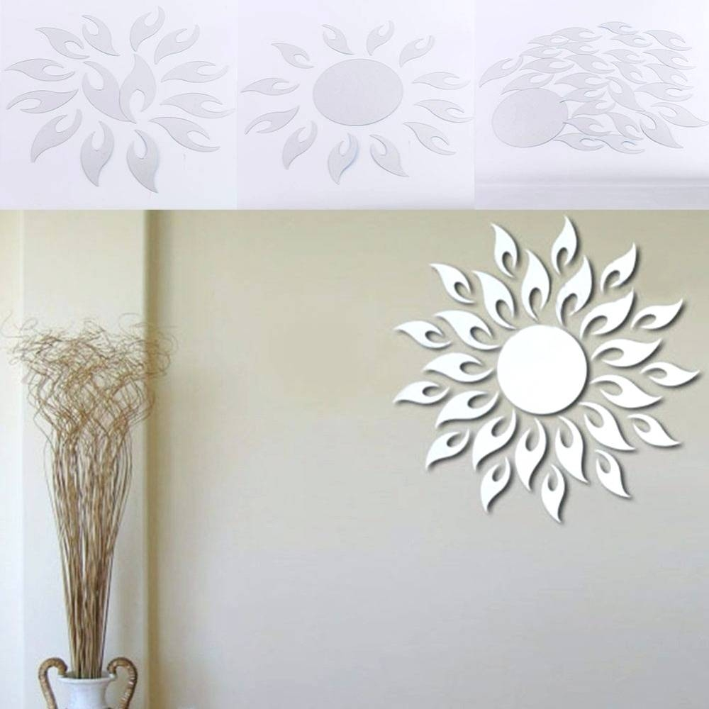 Wall Mirrors ~ Sunburst Wall Mirror Starburst Wall Mirror Design For Most Recently Released Kohls Wall Decals (View 23 of 25)