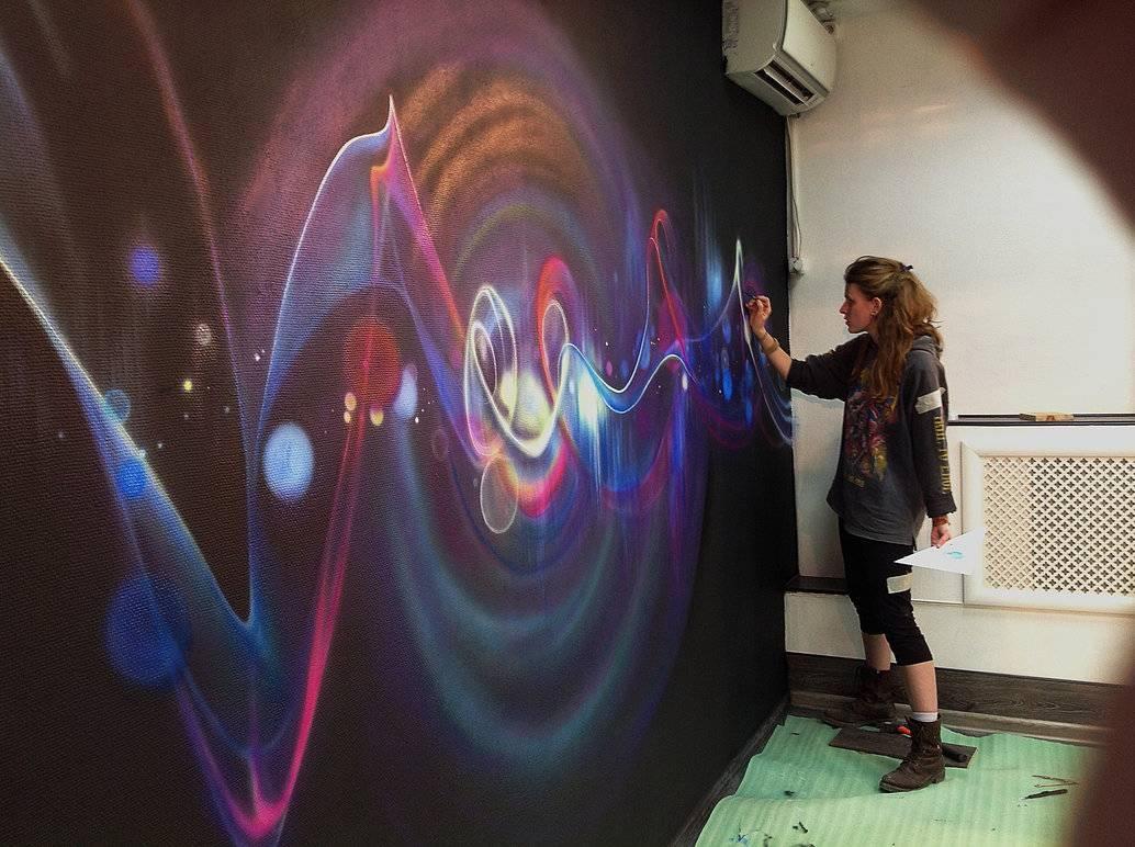 Wall Painting (Airbrush + Brush)Aelitadir On Deviantart With 2018 Airbrush Wall Art (View 19 of 20)