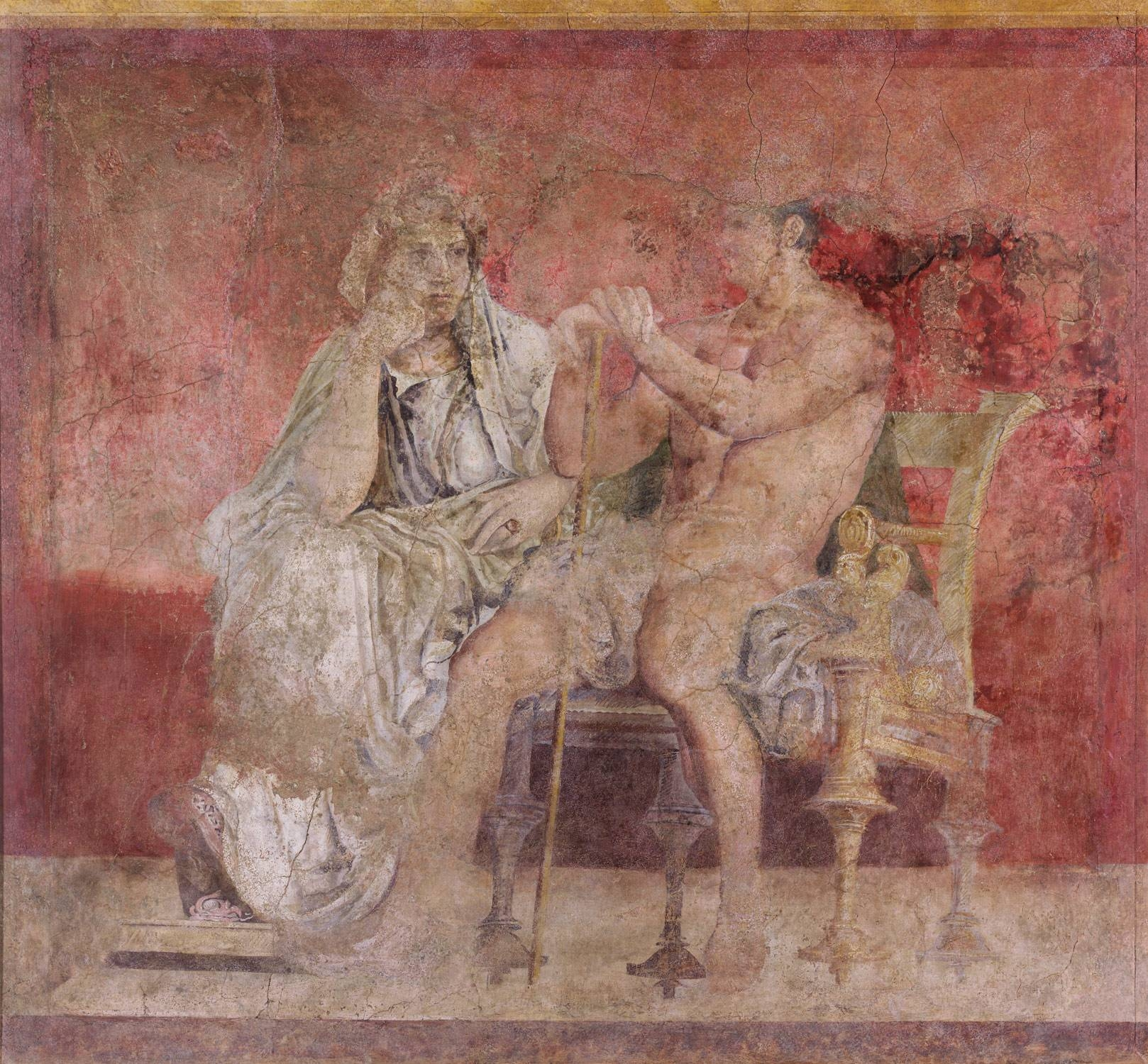 Wall Painting From Room H Of The Villa Of P (View 20 of 20)