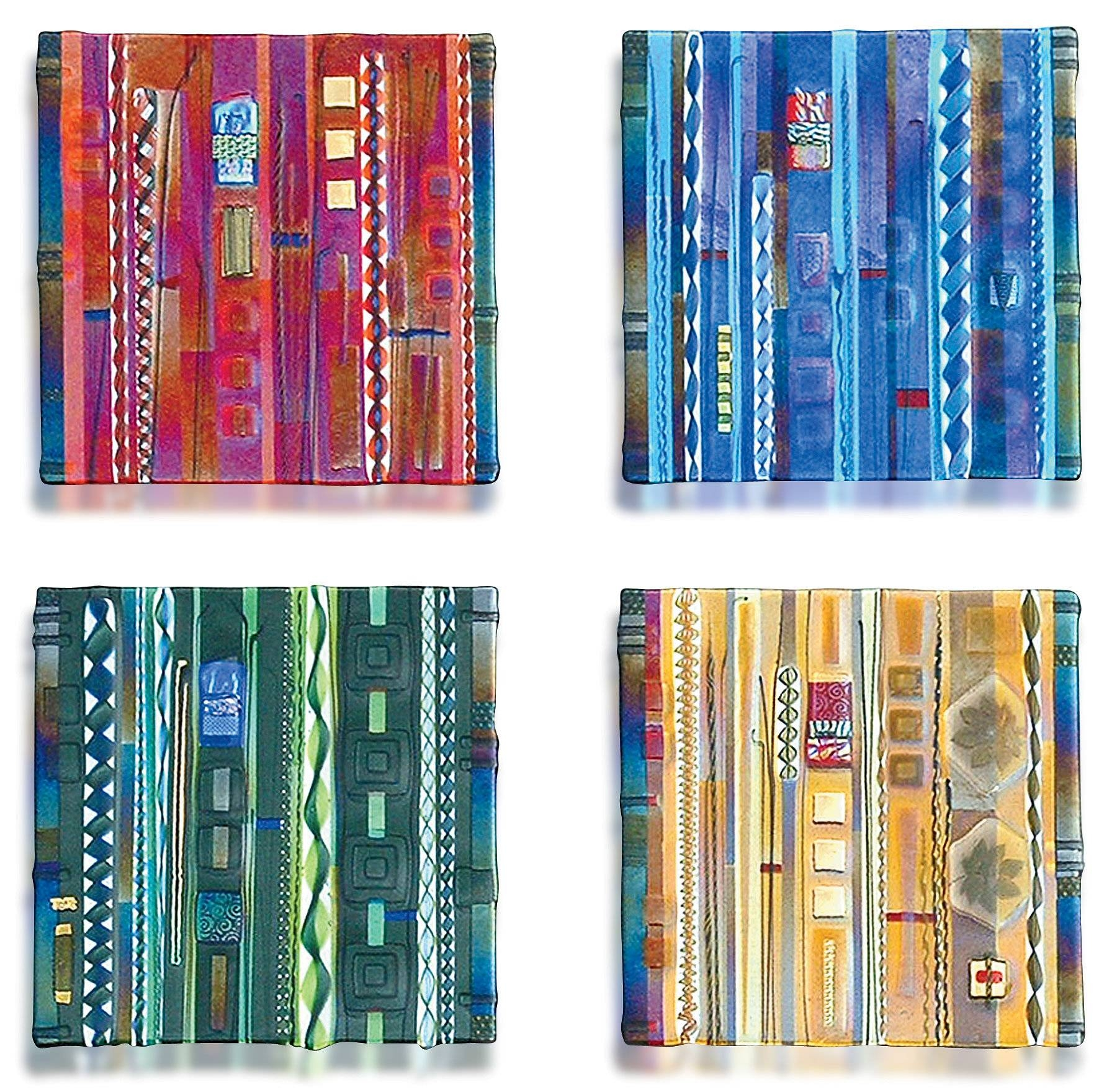 Wall Panel Color Series Setmark Ditzler (art Glass Wall Art With Best And Newest Fused Glass Wall Art Panels (View 16 of 25)