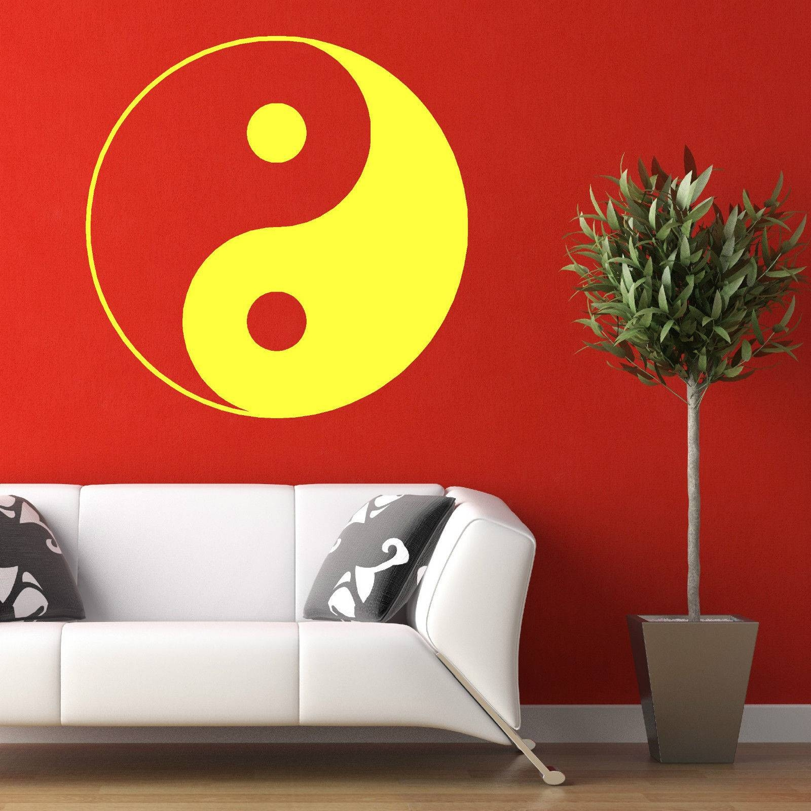 Wall Sticker Picture – More Detailed Picture About D189 Yin Yang In Latest Yin Yang Wall Art (View 24 of 30)