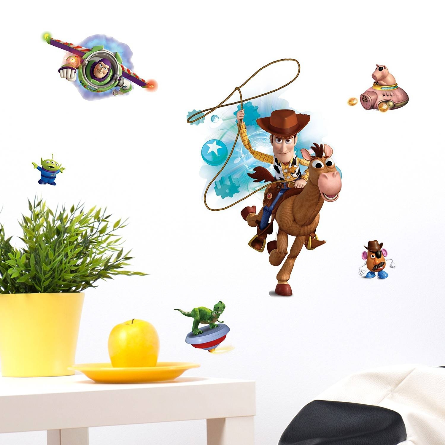 Wall Stickers Uk – Wall Art Stickers – Kitchen Wall Stickers In Newest Toy Story Wall Stickers (View 24 of 25)