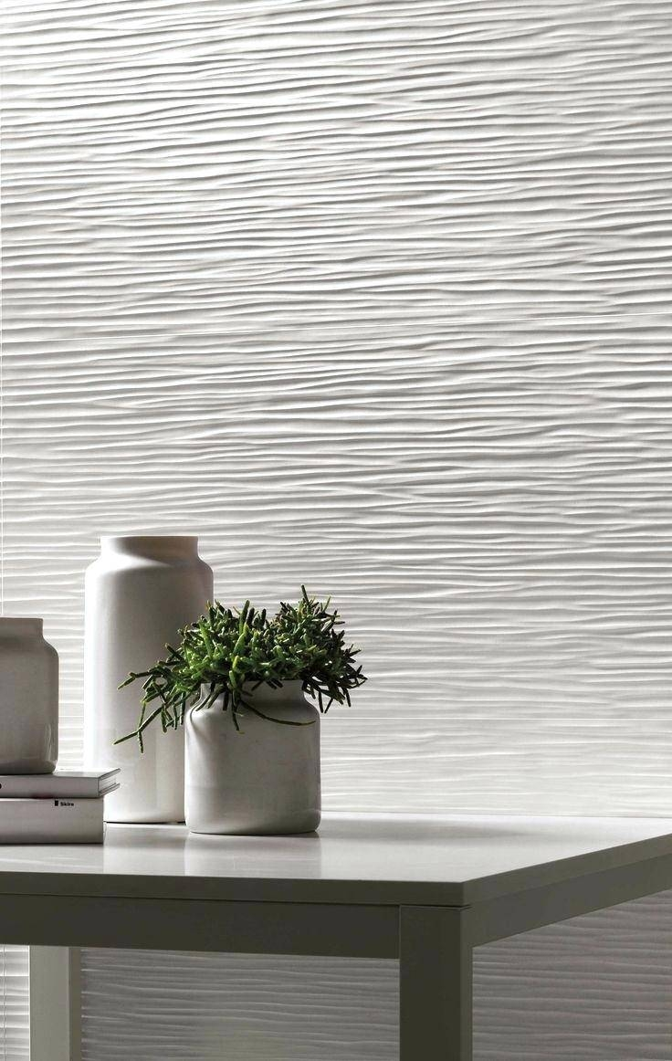 Wall Tiles : Paintable Waves 3D Wall Panels Cozy Design Wallpaper For Most Recent Waves 3D Wall Art (View 16 of 20)