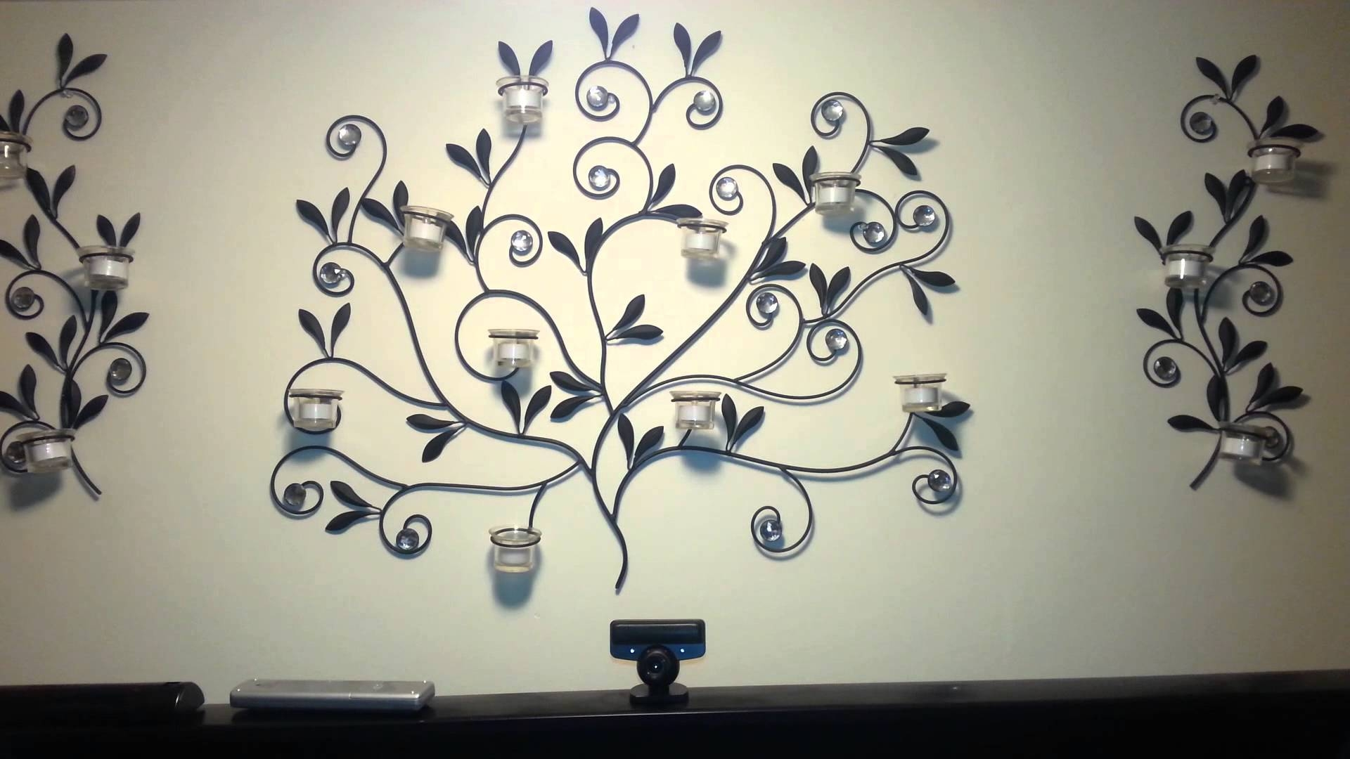 Walmart Metal Wall Art – Youtube Intended For Recent Walmart Wall Stickers (View 18 of 25)