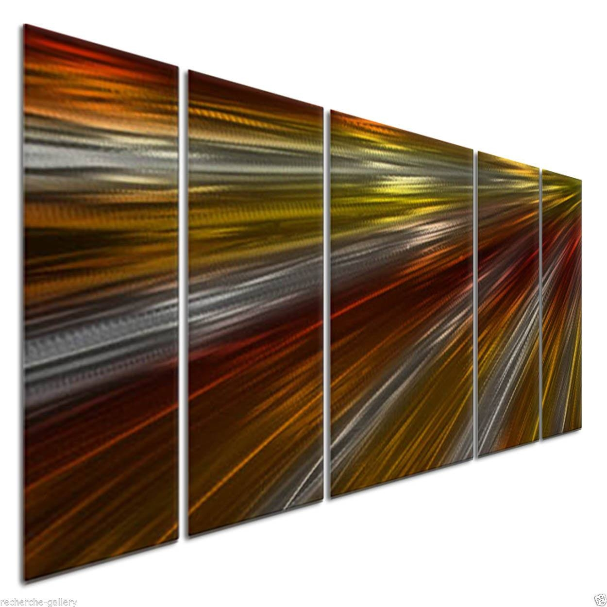 Warm Rays Of Light Ii Metal Artash Carl – Modern Wall Intended For Newest Ash Carl Metal Art (View 10 of 30)