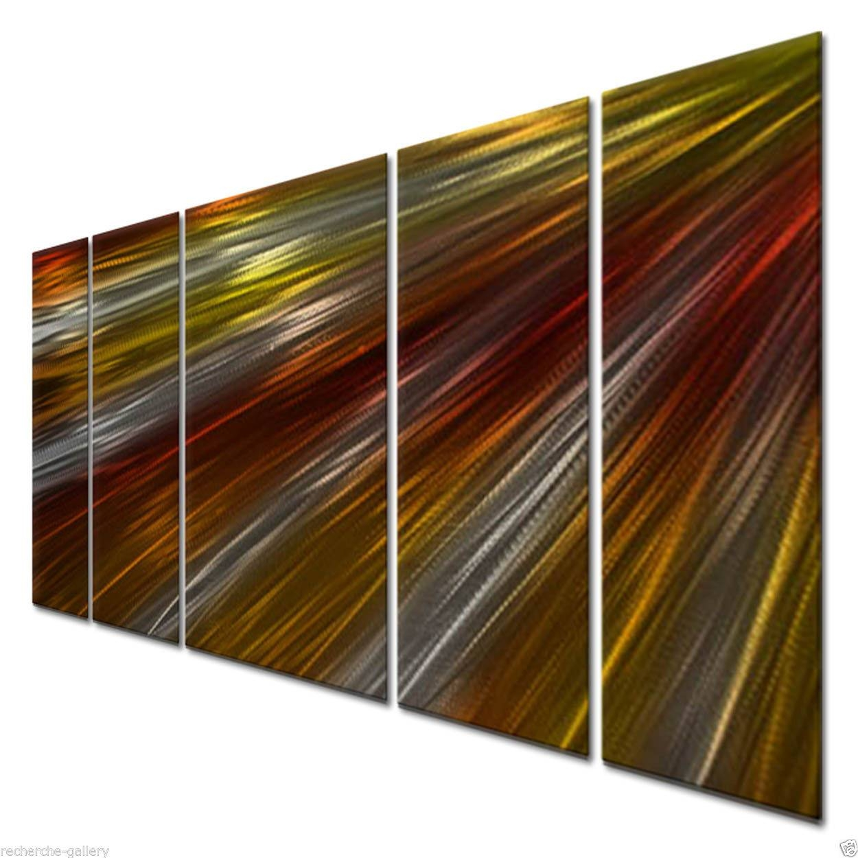 Warm Rays Of Light Ii Metal Artash Carl – Modern Wall Regarding 2018 Ash Carl Metal Art (View 30 of 30)