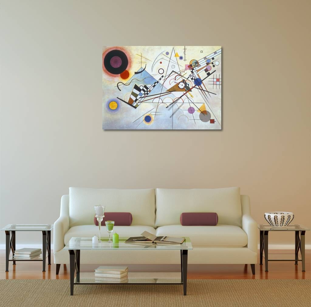 Wassily Kandinsky Composition Viii Canvas Wall Art In Recent Photography Wall Art (View 23 of 25)