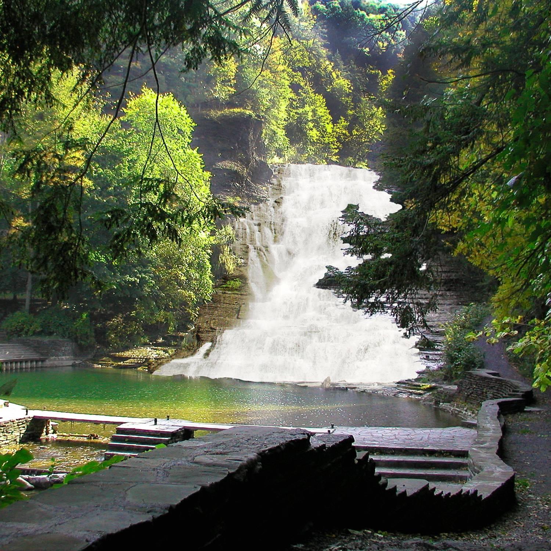 Waterfall Wall Artbuttermilk Falls Photographwaterfall With Regard To Newest Waterfall Wall Art (View 19 of 20)