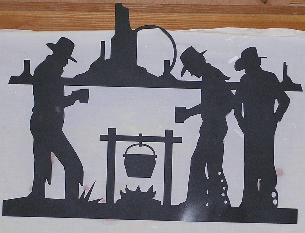 Western Themed Metal Art – Art 2 Metal Within Most Recently Released Western Metal Art Silhouettes (View 30 of 30)