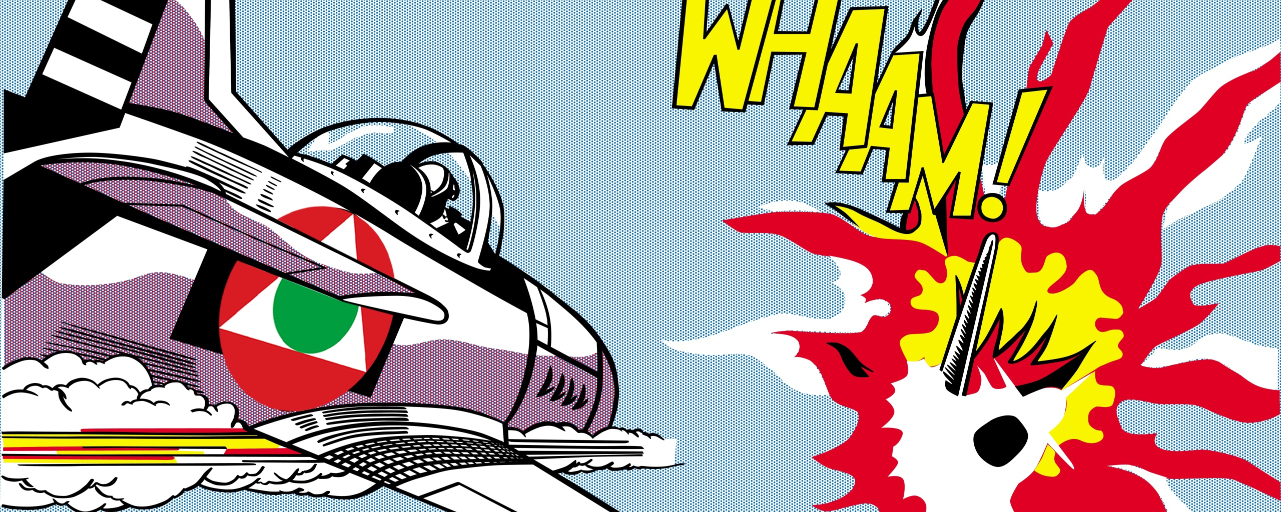 Whaam! (1963)Pop Artist Roy Lichtenstein Wallpaper And In Most Current Pop Art Wallpaper For Walls (View 20 of 20)