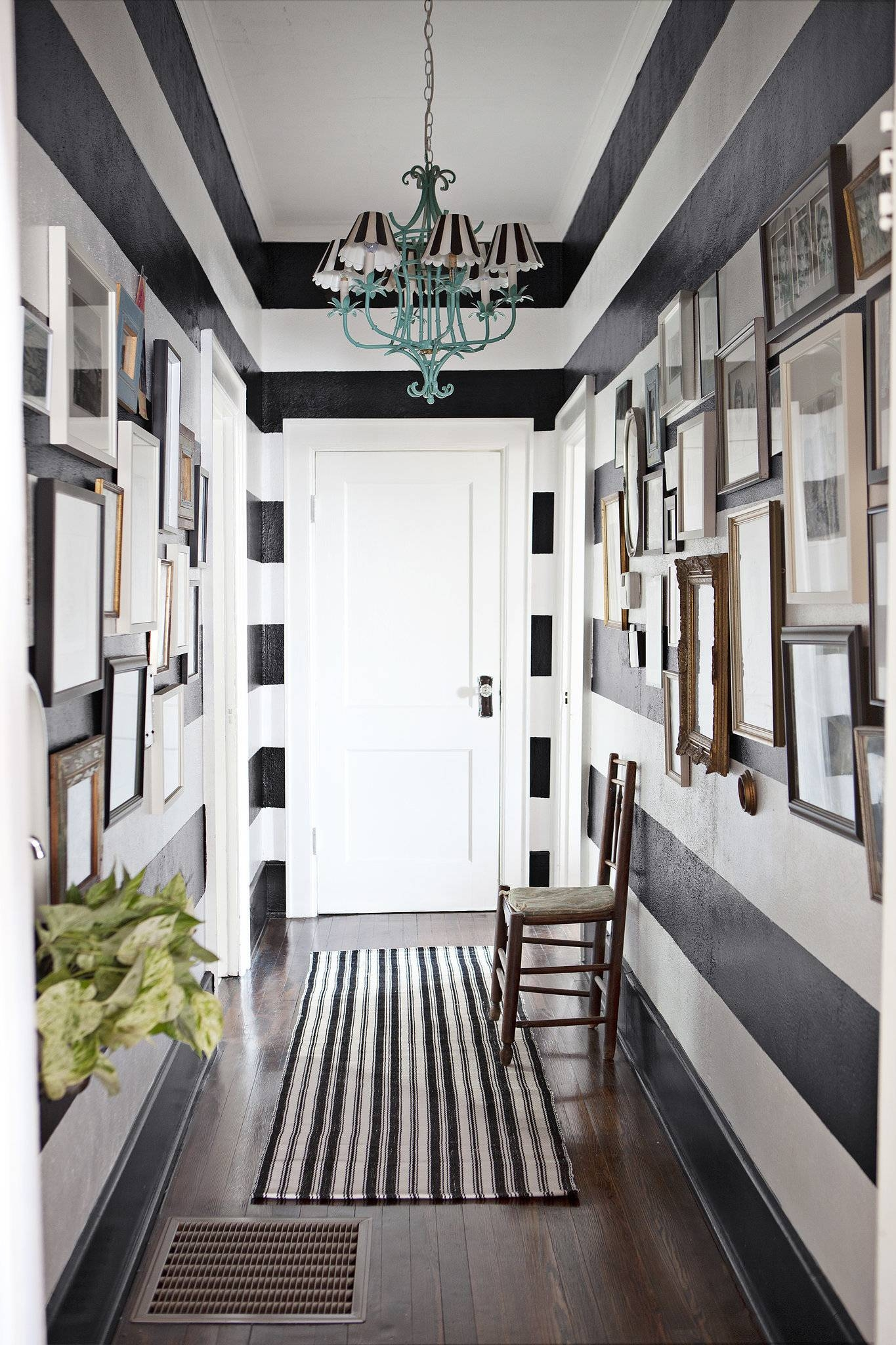 White Wooden Finish Flooring Idea Hallway Wall Art Ideas Lovely With Regard To Recent Wall Art Ideas For Hallways (View 14 of 20)