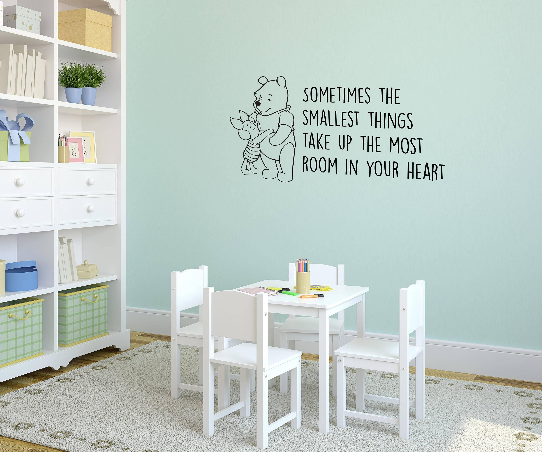 Winnie The Pooh Interior Vinyl Wall Sticker / Wall Decoration Inside 2017 Winnie The Pooh Vinyl Wall Art (View 4 of 20)